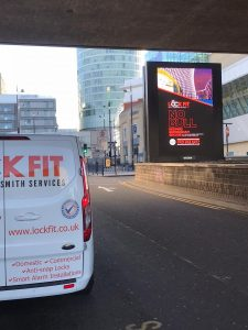 24 Hour Locksmith Services Biggest ever LockFit Bill boards now in prime locations throughout Birmingham News Page  Lockfit Local Locksmith Emergency Locksmiths Brimingham Locksmith